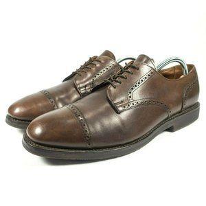 Allen Edmonds Brogue Cap Toe Derby Oxford Shoes